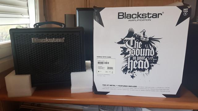 Blackstar HT1R Metal 1w a valvulas