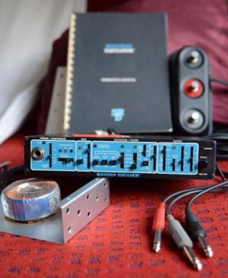 Rockman Sustainor procesador analógico para guitarra, made in USA, ¡¡ Ocasión !!