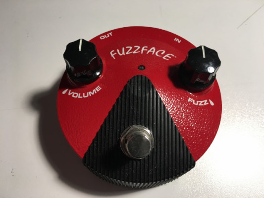 Pedal Dunlop Germanium Fuzz Face Mini Red