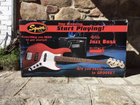 Kit bajo Squier Jazz Bass
