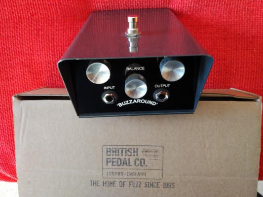 British Pedal Company Buzzaround Fuzz NKT213