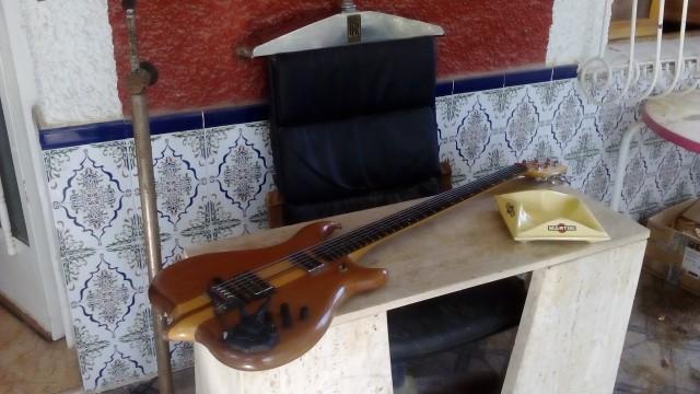 Guitarra barítona Luthier Aleman diseño Alembic