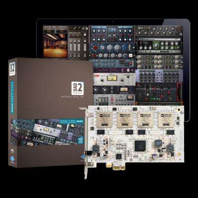 2x UAD2 Quad + plugins