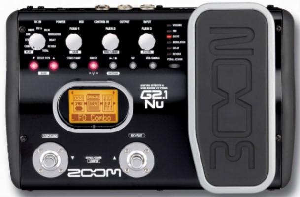 o cambio pedalera de emulación ZOOM G2.1NU. RE-RE-REBAJADO!