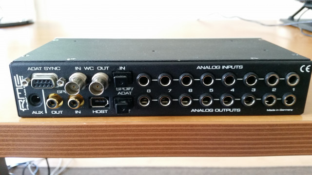 Hammerfall® DSP System Multiface RME Rme Multiface I