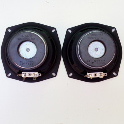 "2 altavoces Roland MicroCube 4,5"" / 5W / 4Ω"
