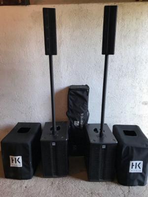 Equipo de Voces de alta calidad HK Elements 1500W