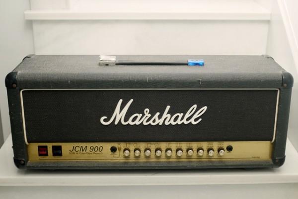 Reservado. Cabezal Marshall JCM900 Hi Gain Dual Reverb 50W