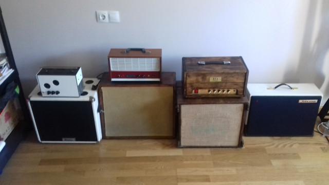 Amplificador valvulas vintage.4.ud