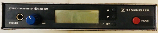 Sennheiser IEM G1 - Monitor inalámbrico