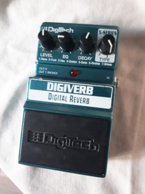Pedal Reverberación Digitech Digiverb X-Series