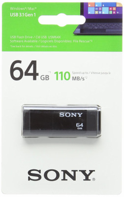 Memoria flash Sony 64GB NUEVA A ESTRENAR!