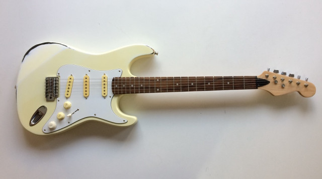 Guitarra años 80