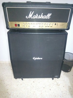 Marshall jcm 2000 tsl 60 + Pantalla 4x12 Epiphone