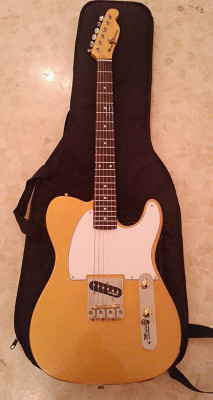 -Telecaster tipo Esquire gold metallic sparkle