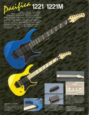 Compro Yamaha Pacifica 1221