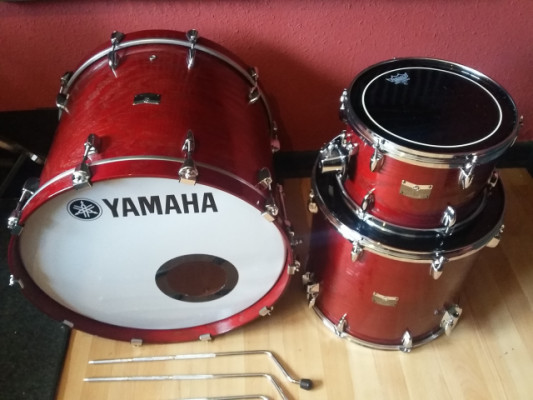"""Yamaha Rock Tour 22"""" 12"""" 16"""" Textured Ash Red"""