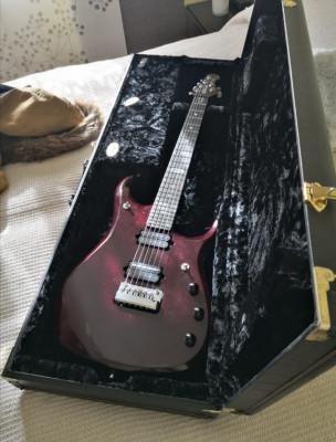 Musicman jp 12 por gibson custom silverburst