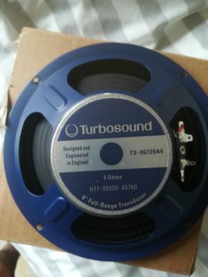 "Turbosund 8"" 4 ohms TS OG12A4"
