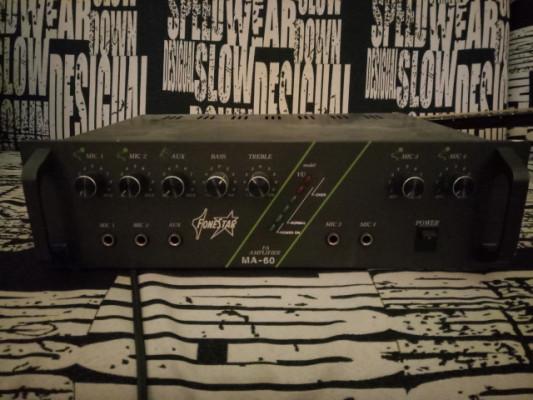 Mezclado amplificado Fonestar MA-60