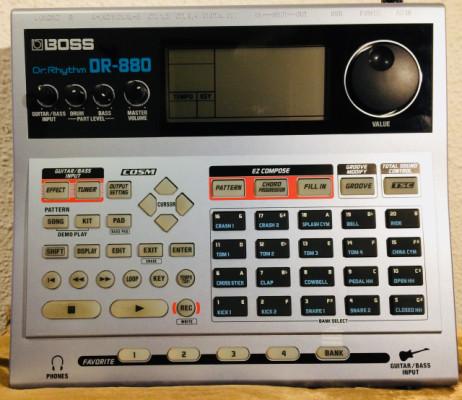 BOSS DR880 CAJA DE RITMOS - REBAJA
