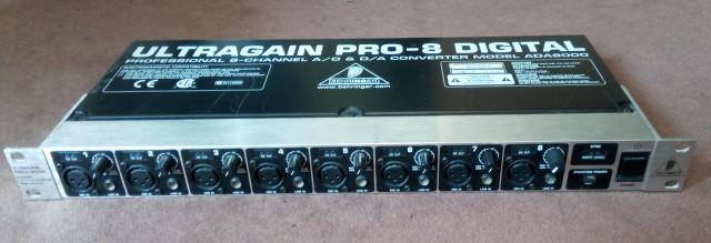 ULTRAGAIN PRO-8 ADA8000