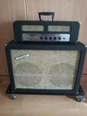 Amplificador USA VINTAGE HILGEN B-2503 BASSO GRANDE 1965