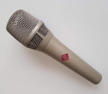 Neumann KMS 105 Micrófono Vocal Condensador Supercardiode Níquel