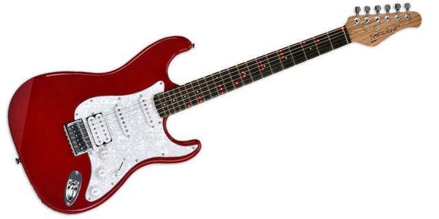Cambio Guitarra Fretlight FG 521 (con Leds en los trastes) por material de estudio