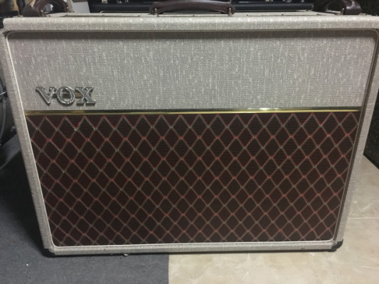 vox ac30 30 aniversario made in england