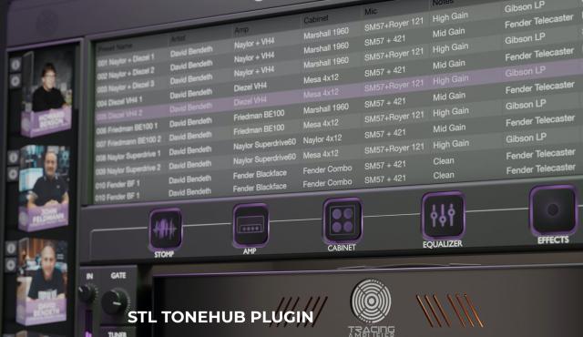 STL Tonehub con 2 expansiones
