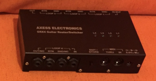 AXESS ELECTRONICS GRX4 (switcher MIDI 4 Loops)