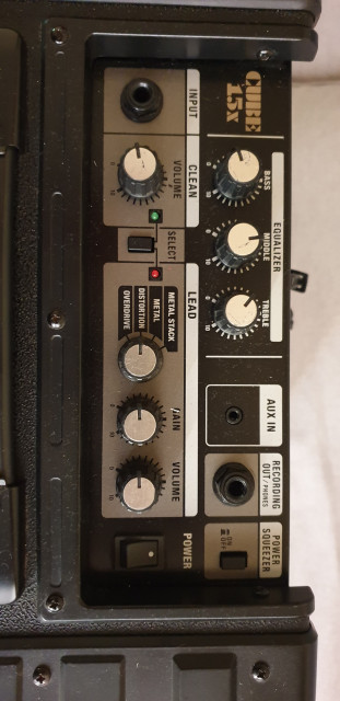 Vendo/cambio Roland CUBE 15x