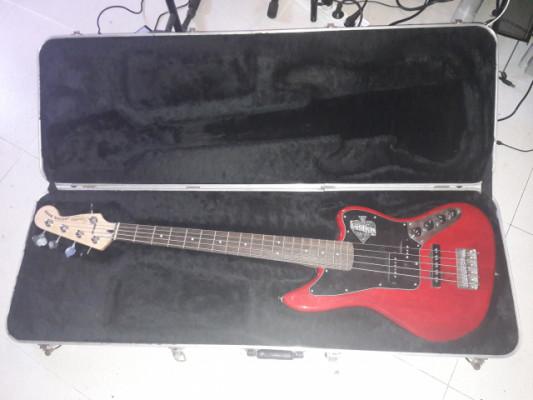 Funda rígida de bajo o guitarra