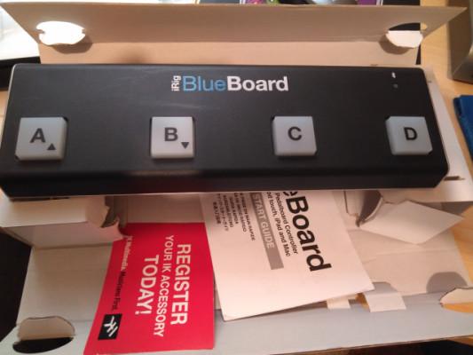 Pedalera MIDI Irig blueboard (bluetooh)