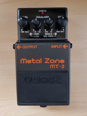 Boss Metal Zone MT-2 como nuevo