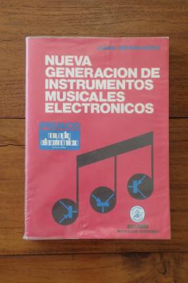 'Nueva generación instrumentos musicales electrónicos' J.Bermudez