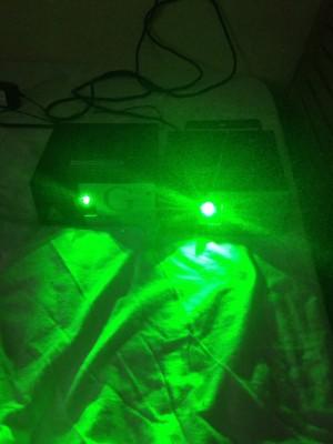 Láser verdes