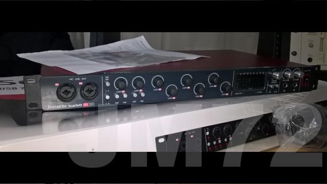 Varios, Roland, Focusrite, Mesa digital, Tarjetas SR-JV80.