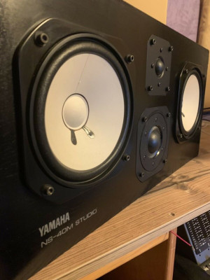 Yamaha NS40m Monitores de Estudio NS10 Japon