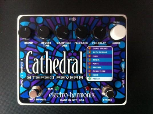 RESERVADO Electro Harmonix Cathedral