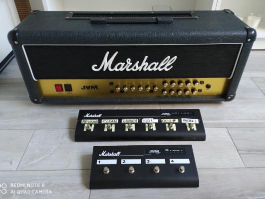 Marshall JVM 205H  + pedalera