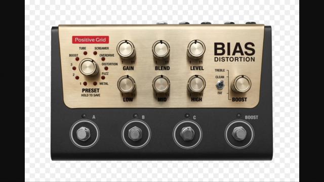Vendo pedal bias distorsión rebajado
