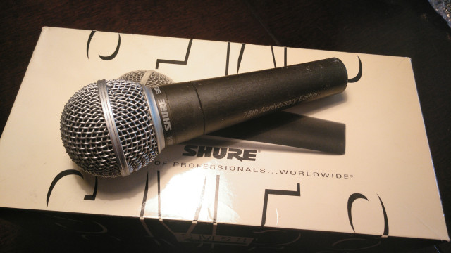 "Shure SM 58 ""75th Anniversary Edition"""