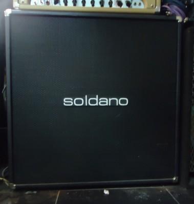 "Cabinet Soldano 4X12"" Straight"