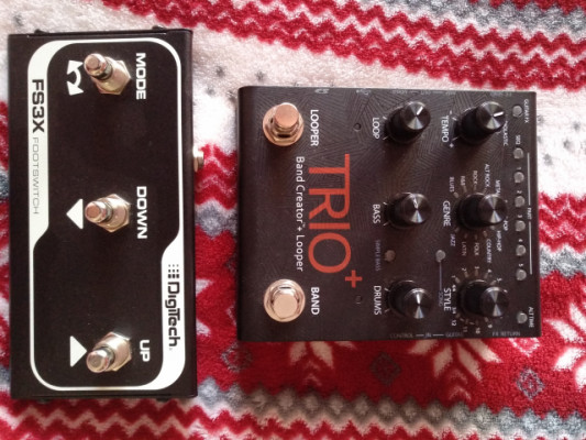 Digitech Trio+ Band Creator  +  FS3X