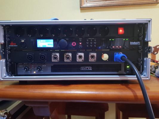Rack potencia, DBX DRIVERACK PA 2, Synq 3k6...