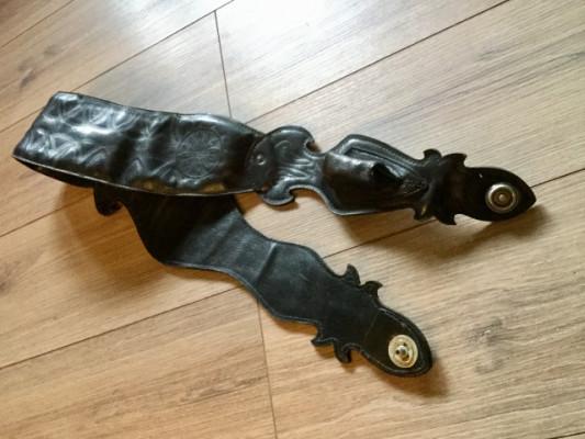 Correa de piel exclusiva + straplocks Dunlop