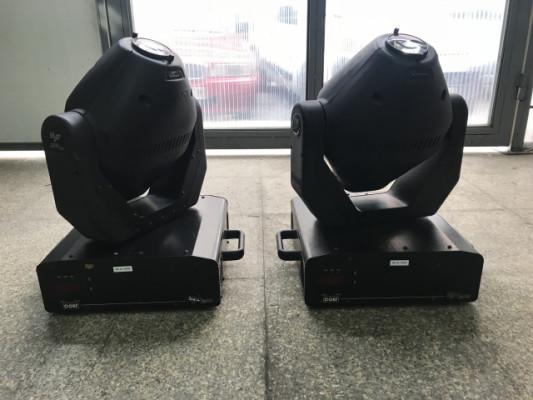 Pareja de Cabezas Móviles Coef Mp250Zoom
