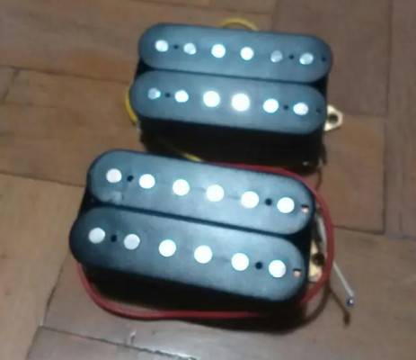 : Pareja de Pastillas Humbucker Washburn para Guitarra Eléctrica